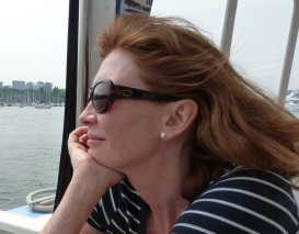 Creative Writing Teacher Tanya Perkins on a Vancouver Ferry